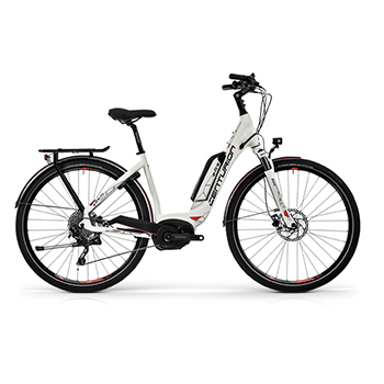 E-Bike E-Fire City R850 White MY2018